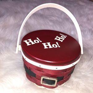 Longaberger Ho Ho Ho Basket
